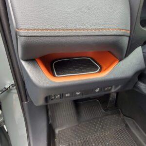 Side of Steering Wheel