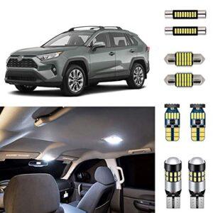 AUTOGINE-White-LED-Interior-Lights-Kit-for-Toyota-RAV4-2016-2017-2018-2019-2020-Super-Bright-6000K-Interior-LED-Lights-Bulbs-Package-Install-Tool-0