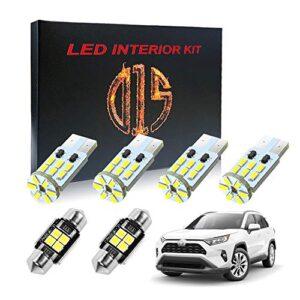 D15-Lighting-LED-Interior-Light-Kit-for-Toyota-Rav4-2006-2020-6000k-White-Map-Dome-Visor-Cargo-Bulbs-3014-SMD-9-Pieces-0