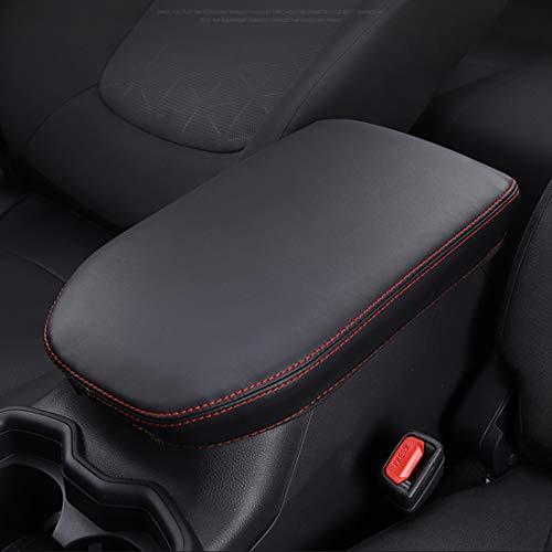 Puduo-Car-Armrest-Cover-Center-Console-Pad-SaverArmrest-Case-Protector-Fit-for-RAV4-2019-2021-Black-0