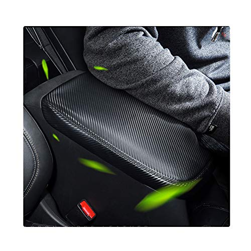 YEE-PIN-Car-Center-Console-Lid-Armrest-Cover-Protector-Fit-for-2019-2020-RAV-4-XA50-Center-Console-Armrest-Box-Scratch-Resistance-Armrest-Cover-with-Carbon-0