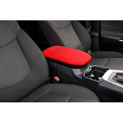 Cqlights-Car-Armrest-Cover-for-Toyota-RAV4-2019-2020-2021-Center-Console-Armrest-Box-Protector-Covers-Red-0-1