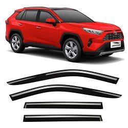 Voron-Glass-Tape-on-Extra-Durable-Rain-Guards-for-Toyota-RAV4-2019-2021-SUV-Window-Deflectors-Vent-Window-Visors-4-Pieces-120100-0