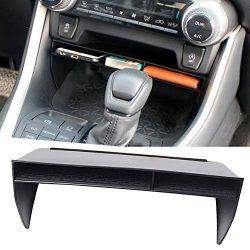 YIKA-for-2019-2020-Toyota-RAV4-Accessories-Center-Console-Organizer-Tray-Gear-Shift-Storage-Box-Insert-Divider-Double-Layered-Non-Slip-Organizer--0
